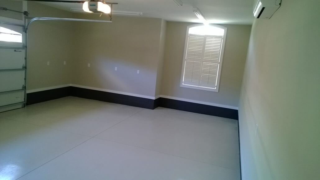 Garage Painting in Wilmington, NC by JHC.