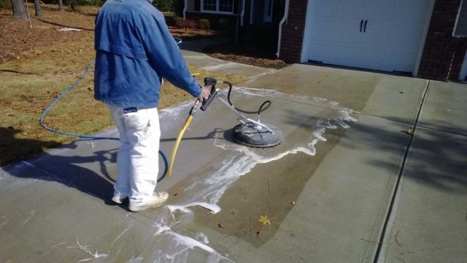 Exterior Power Washing in Hampstead, North Carolina by JHC.