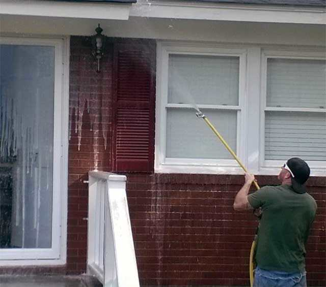 Roof Washing in Hampstead, North Carolina by JHC.