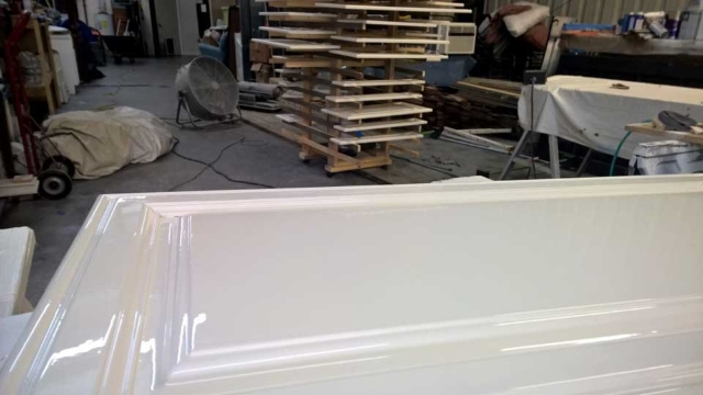 Cabinet Painting and Refinishing in Hampstead, North Carolina by JHC.
