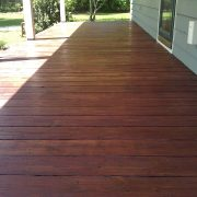 After Deck Restoration in Hampstead, North Carolina by JHC.