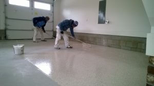 Floor Painting in Wilmington, North Carolina by JHC.