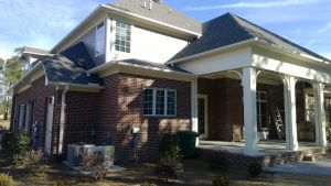 Custom Home Painting Trim and Columns in Wilmington, North Carolina by JHC