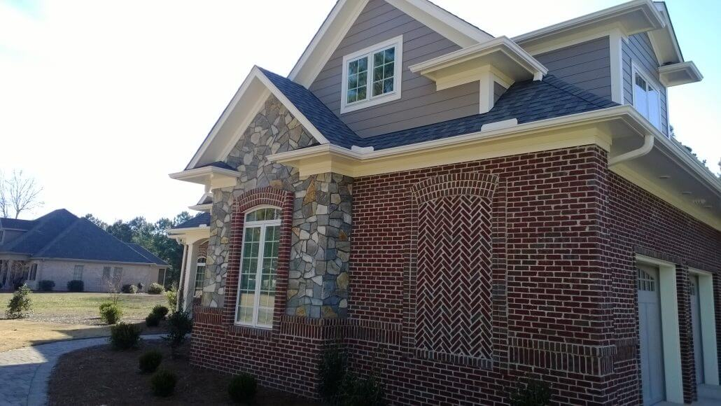 Custom Home Painting Soffits in Wilmington, North Carolina by JHC