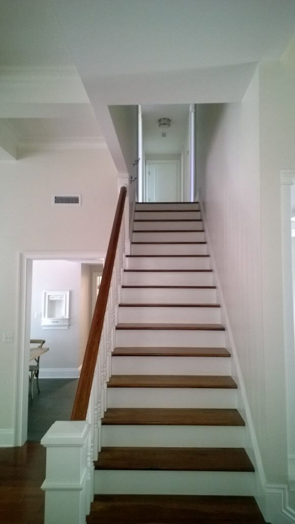 Stairway Painting in Wilmington, NC by JHC.